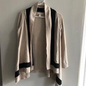 Banana Republic Open Cardigan Wool Jacket XS